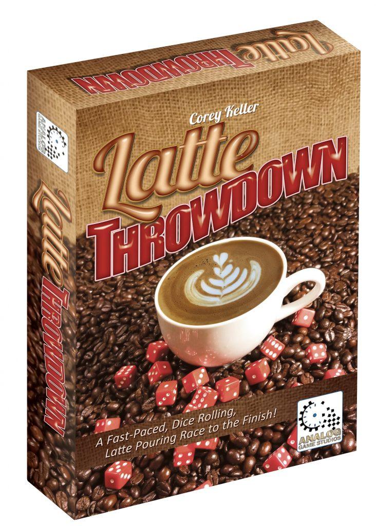 Board Game Box for Latte Throwdown