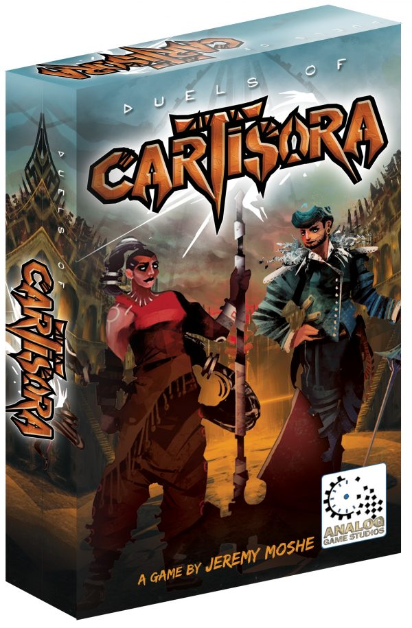Game Box for Duels of Cartisora