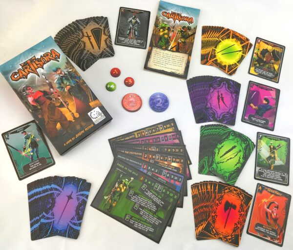 Duels of Cartisora Game Components