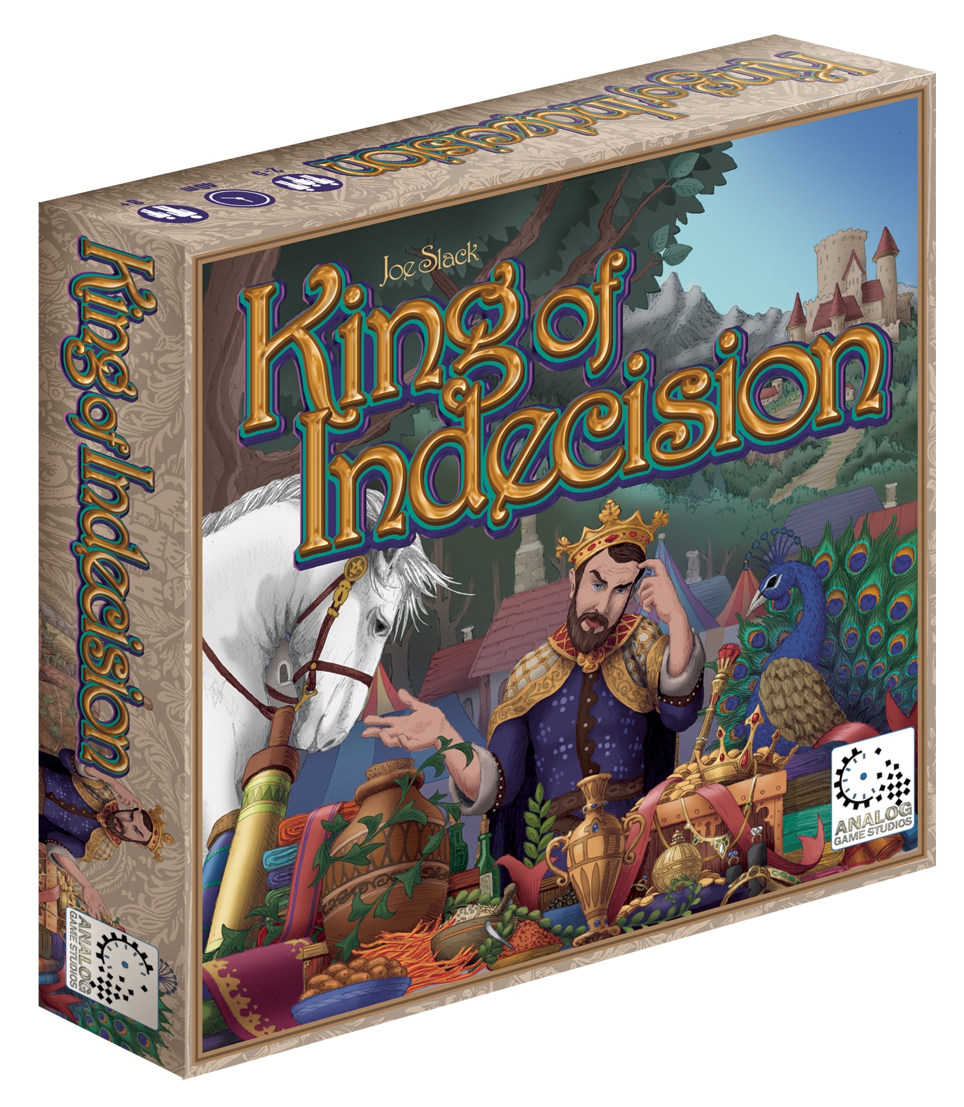 Board Game Box of King of Indecision